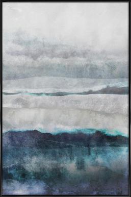 Watercolors 29 Poster im Kunststoffrahmen