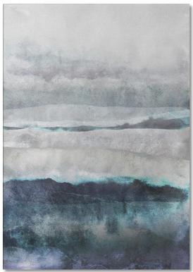 Watercolors 29 Notepad