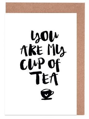 You Are My Cup Of Tea Wenskaartenset