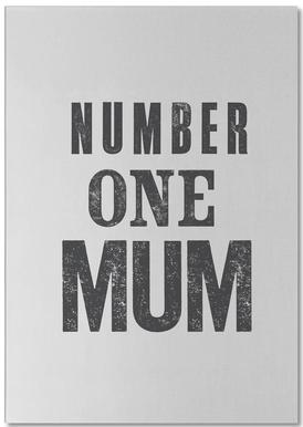 Number One Mum Bloc-notes