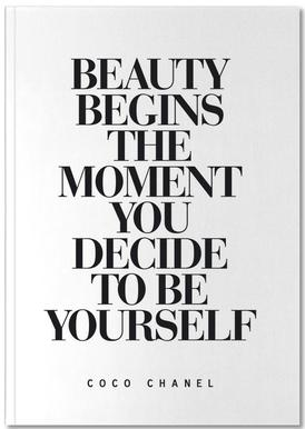 Beauty Begins Notizbuch
