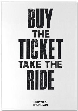 Buy The Ticket notitieblok