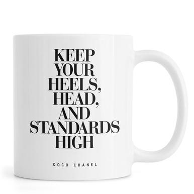 Keep Your Heels Mug