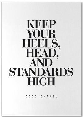 Keep Your Heels notitieblok