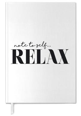 Note To Self Relax agenda