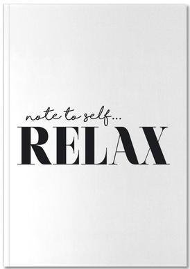 Note To Self Relax Notizbuch