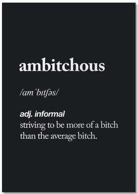 Ambitchous notitieblok