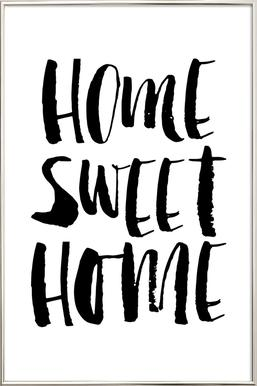 Home Sweet Home As Poster By The Motivated Type Juniqe Uk
