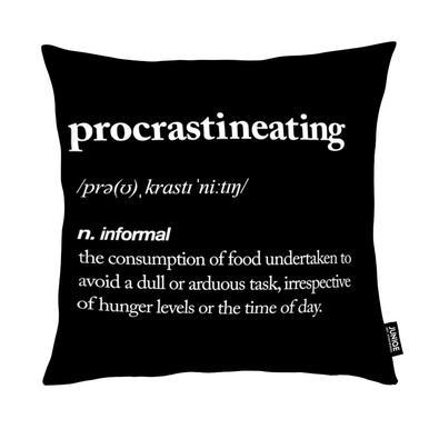 Procrastineating Cushion