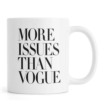 More Issues Than Vogue White Krus