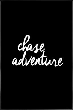 Chase Adventure Poster in Standard Frame