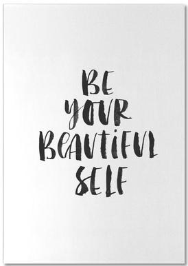 Be Your Beautiful Self Notepad