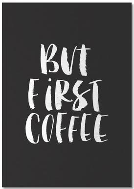But First Coffee Notizbuch