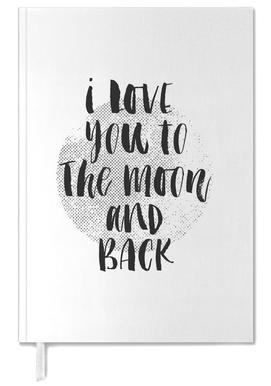 I Love You To The Moon And Back agenda