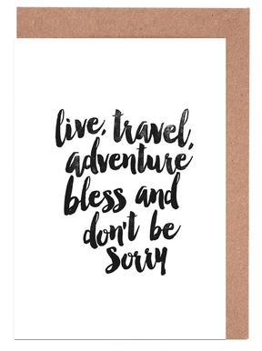 Live Travel Adventures cartes de vœux