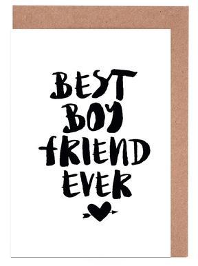 Best Boyfriend Ever Grußkartenset
