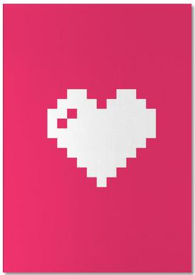 Digi Heart Bloc-notes