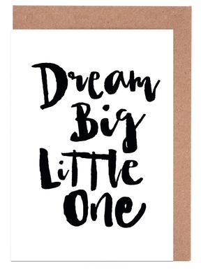 Dream Big Little One cartes de vœux