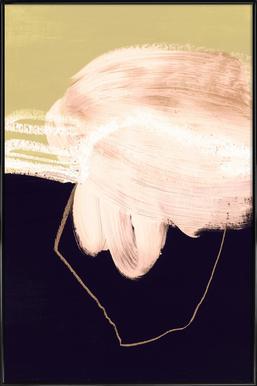 Untitled 160318 ingelijste poster