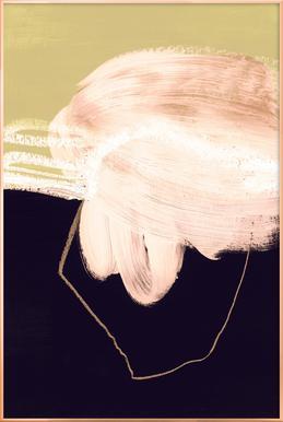 Untitled 160318 -Poster im Alurahmen