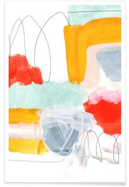 Abstract Painting XVI poster