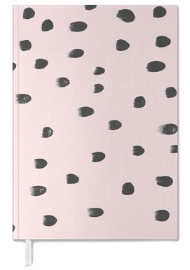Dots On Pink Personal Planner