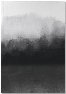 Greyscale Landscape Notitieboekje