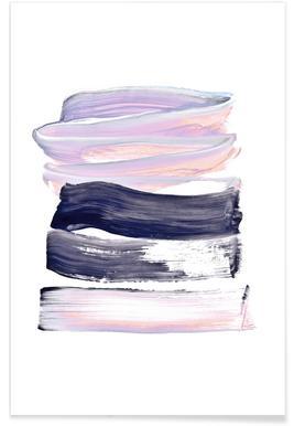 Summer Pastels Poster