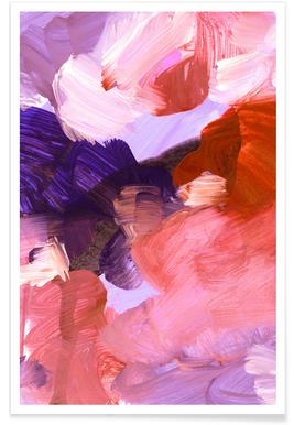 Abstract Painting V Affiche