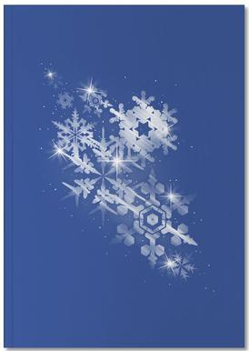 Snowflakes of hope Carnet de note