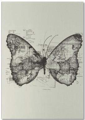 Butterfly effect notitieblok
