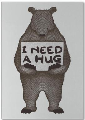 I Need a Hug Notepad
