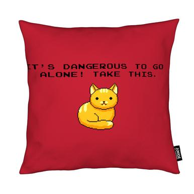 Its Dangerous To Go Alone Take This Cat Kudde