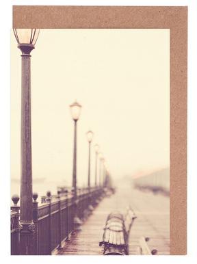 Meet me at the Pier No  2 Greeting Card Set | JUNIQE