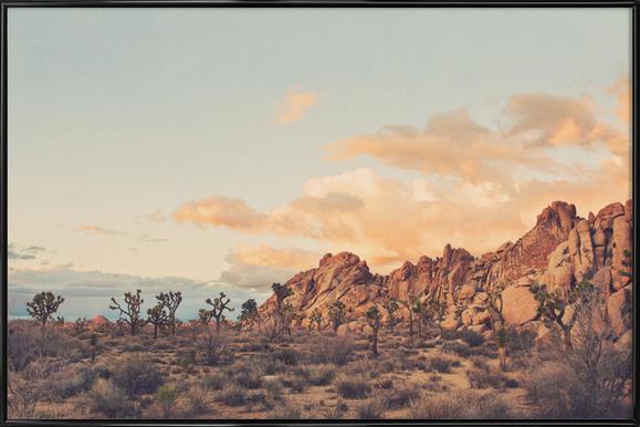 Winter in the Desert No.2 Framed Poster