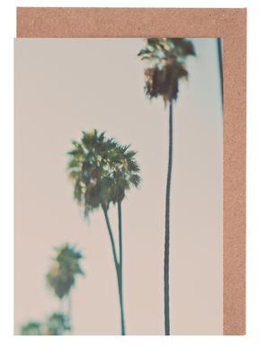 Blurry Palms Color cartes de vœux