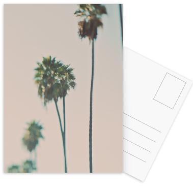 Blurry Palms Color cartes postales