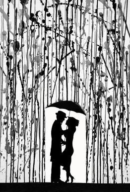Film Noir Acrylglasbild