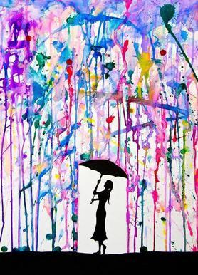 Deluge canvas doek