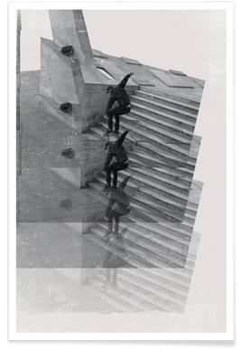 Skate repeat Poster