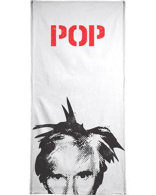 Andy Warhol Bath Towel