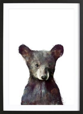 Little Bear affiche sous cadre en bois
