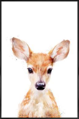 Little Deer affiche encadrée