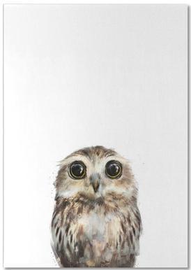 Little Owl -Notizblock