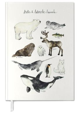 Arctic and Antarctic Animals Personal Planner