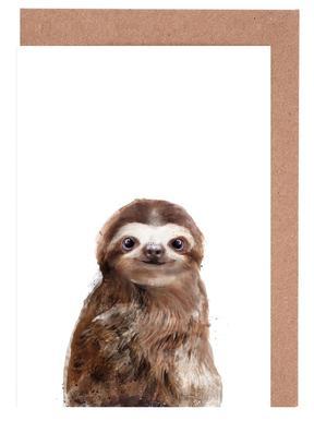 Little Sloth Grußkartenset