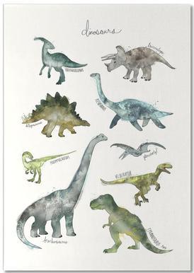 Dinosaurs bloc-notes