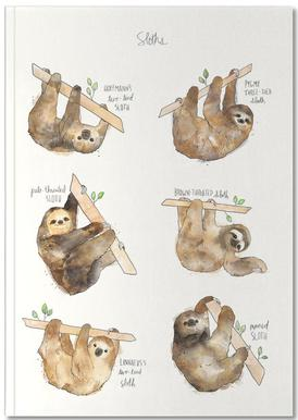 Sloths Notebook