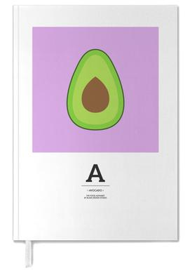 """The Food Alphabet"" - A like Avocado Personal Planner"