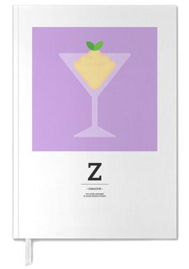 """The Food Alphabet"" - Z like Zabaione Personal Planner"
